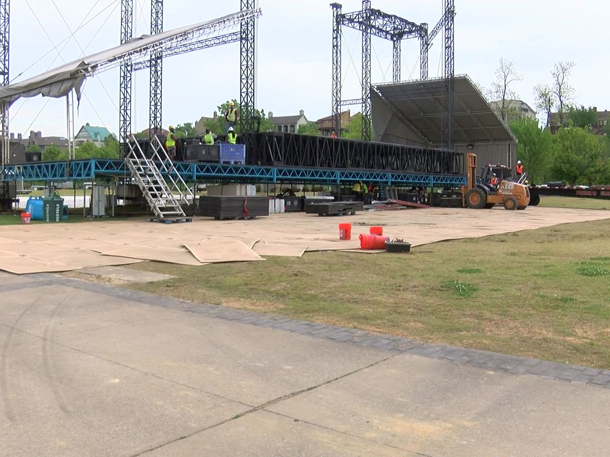 Roads close to traffic ahead of BSMF