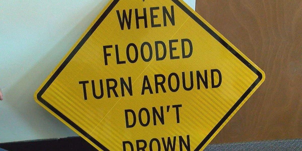 NWS donates signs to county