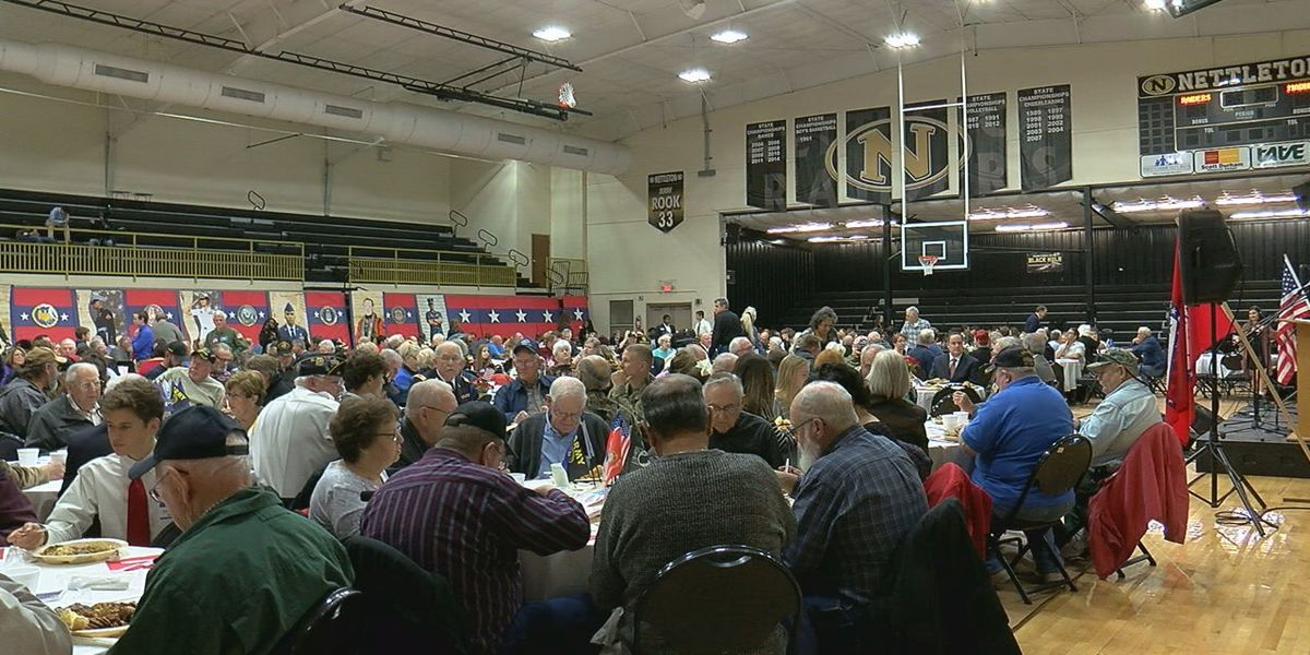 Over 500 veterans honored at annual luncheon