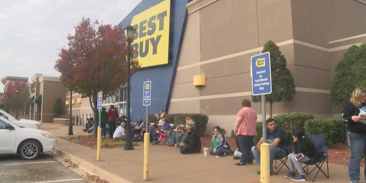 Black Friday shoppers hope for big screen television