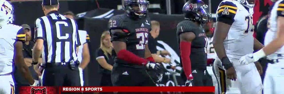 A-State LB Tajhea Chambers honored by Pro Football Focus