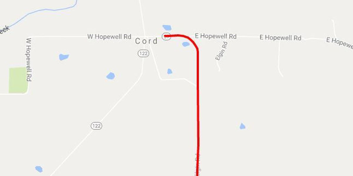 Part of state highway closed for maintenance