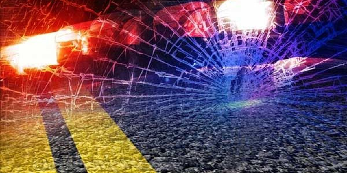 1 dead and 1 injured in single-vehicle crash