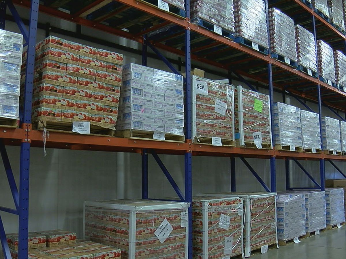 Food Bank of NEA prepares for backpack program to start with school