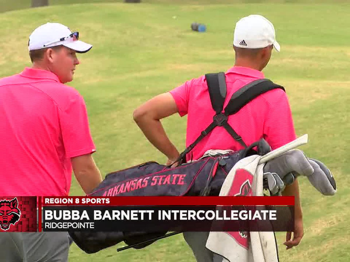 Arkansas State men's golf leads by 13 shots after Day 1 of Bubba Barnett Intercollegiate