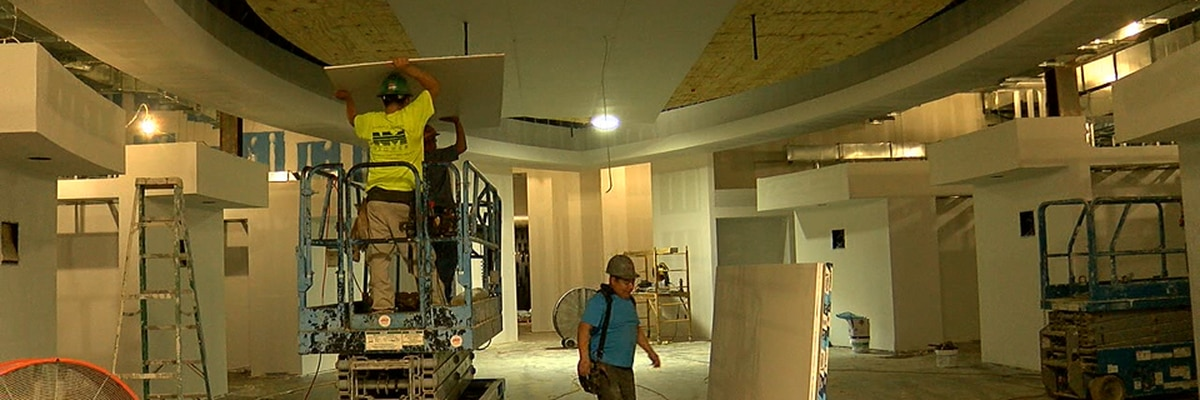 Arkansas State football operations building continues to take shape