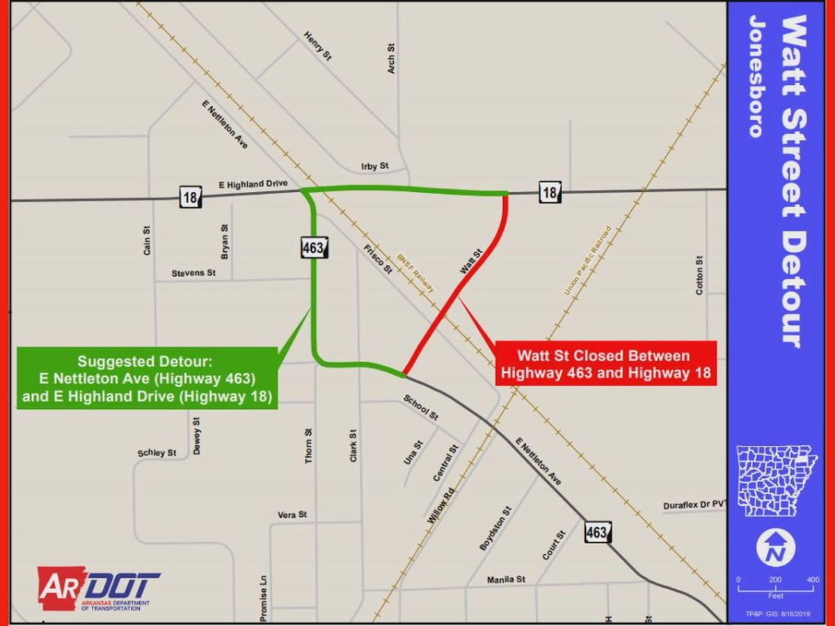 Watt Street to close to reconstruct highway for overpass project