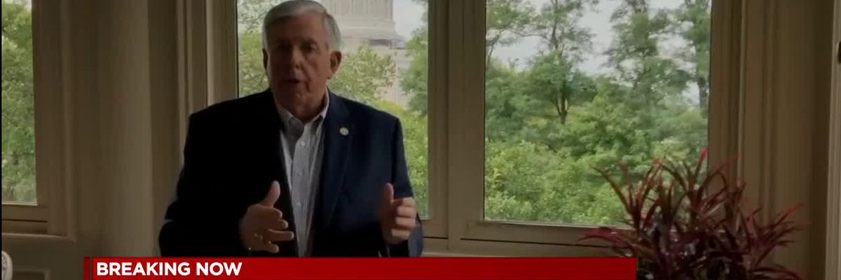 Gov. Mike Parson, wife test positive for COVID-19