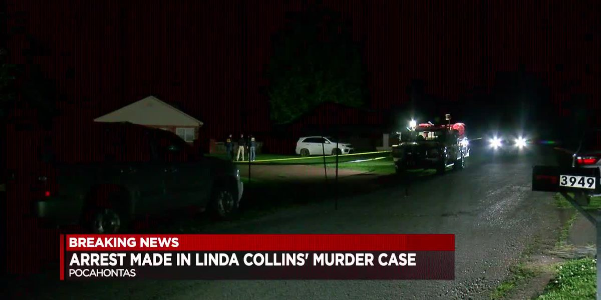 Arrest Made in Linda Collins' Murder Case