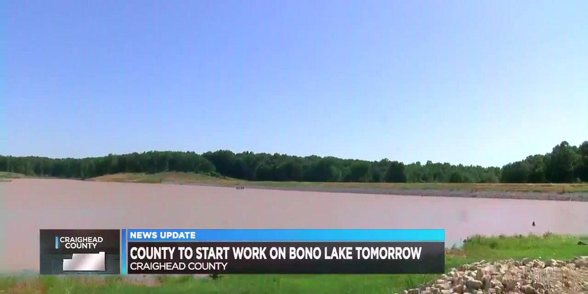 Crews start work on short term fix for Bono Lake