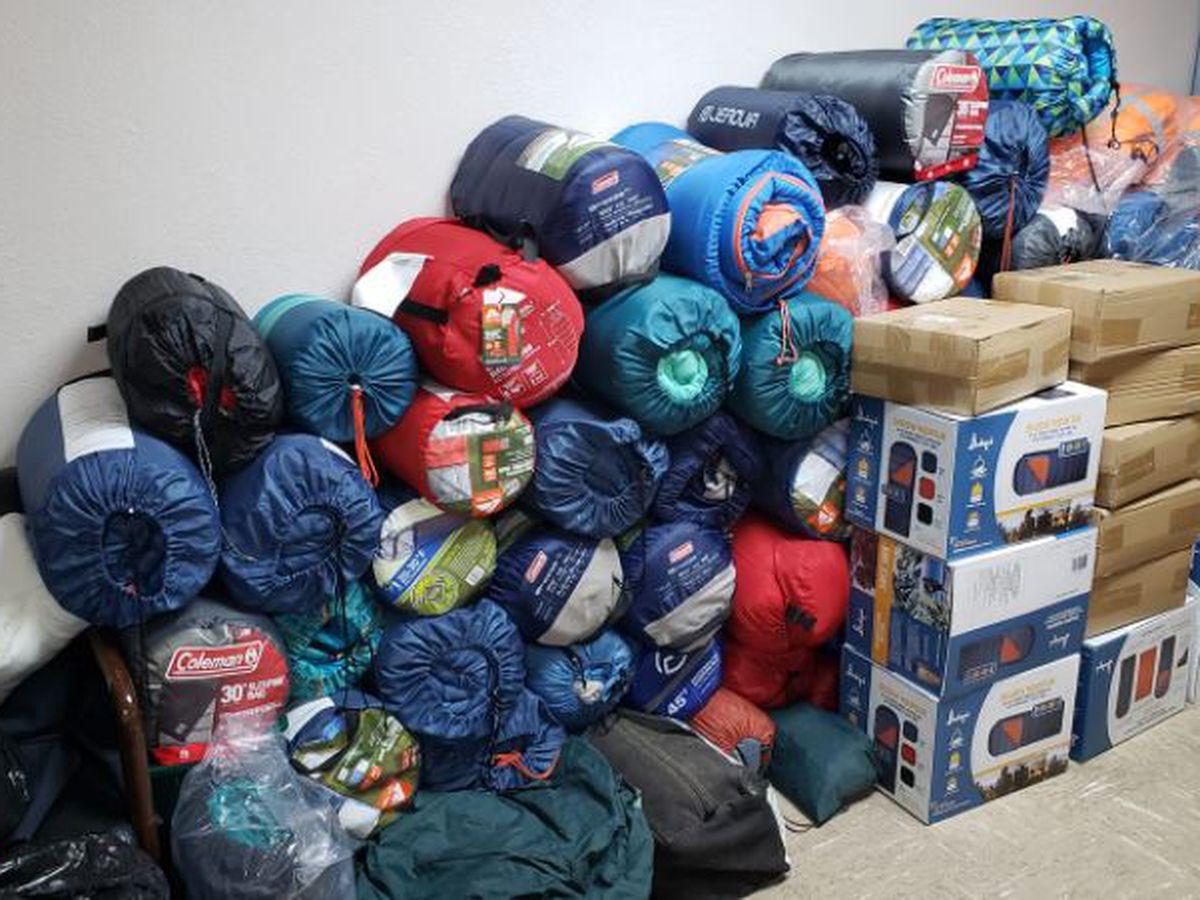 Homeless sleeping 'a little warmer' thanks to church's generosity