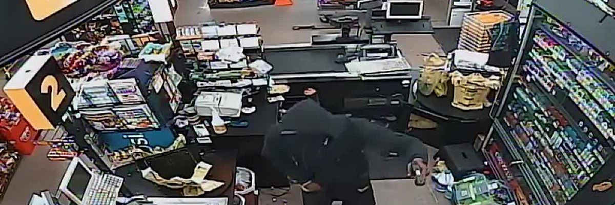 Dollar General robbery caught on camera