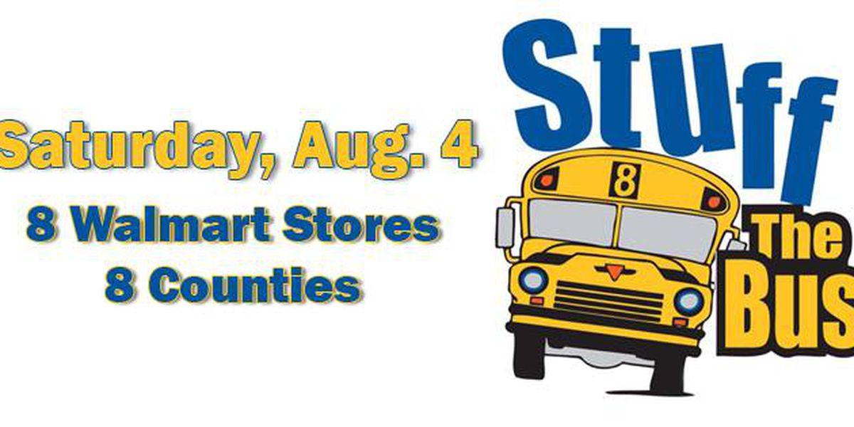 Stuff the Bus this weekend in Region 8