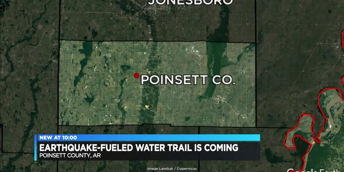 A new earthquake-fueled water trail is coming to Northeast Arkansas
