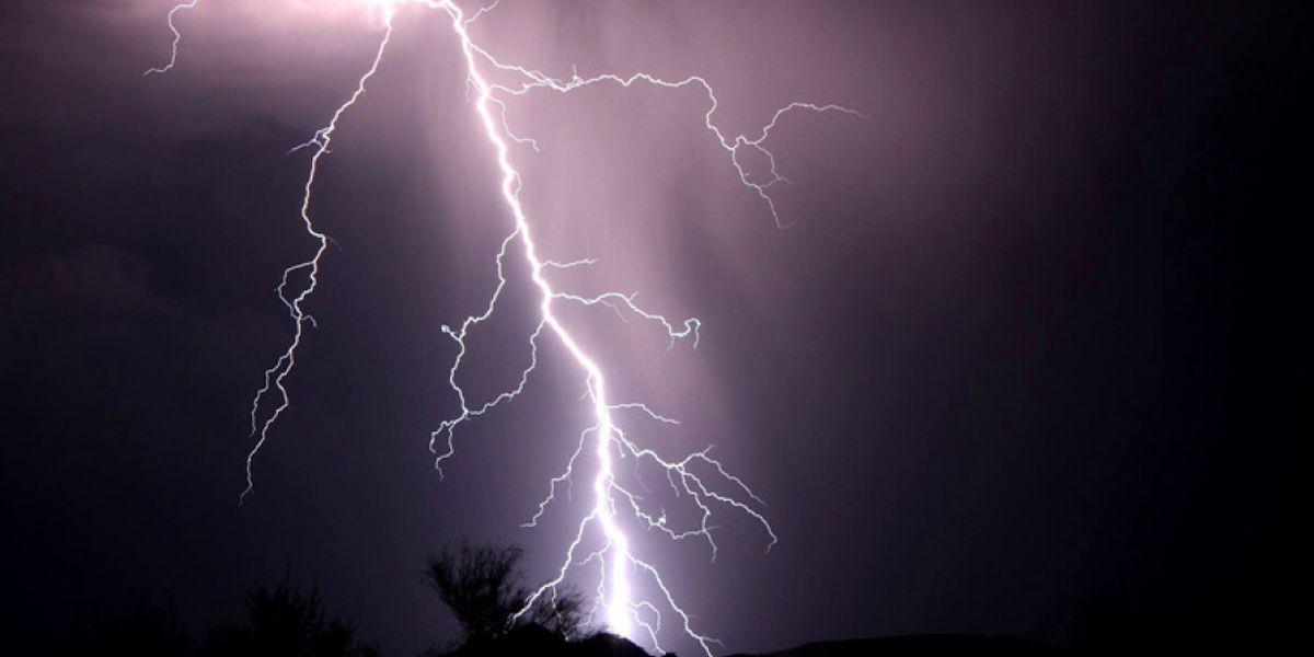 'I had God with me,' worker says after lightning strike
