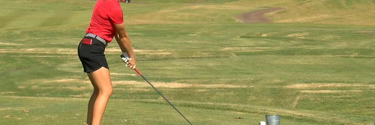 Arkansas State women's golf leads by 12 shots after Day 1 of Lady Red Wolves Classic