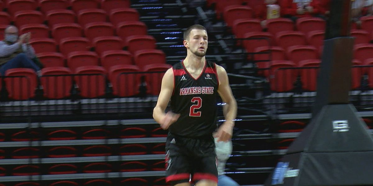 Eaton and Felts combine for 28 as Arkansas State completes weekend sweep over Louisiana