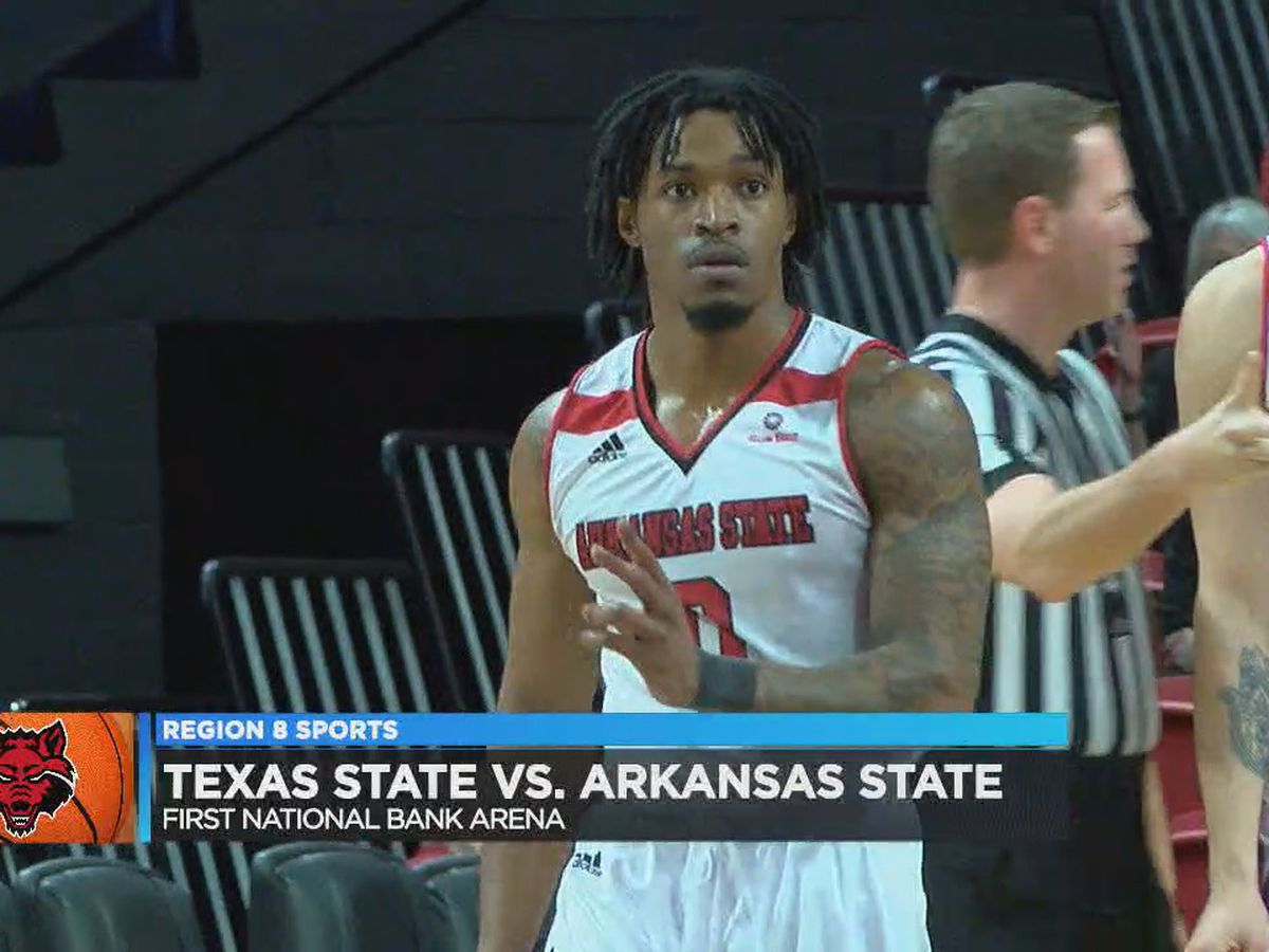 Cockfield scores 39; Arkansas State men lose to Texas State