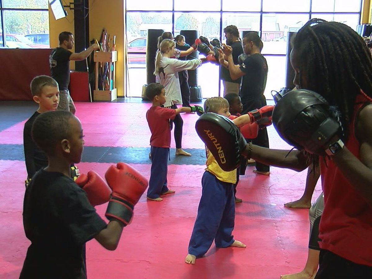 Martial Arts school combats bullying