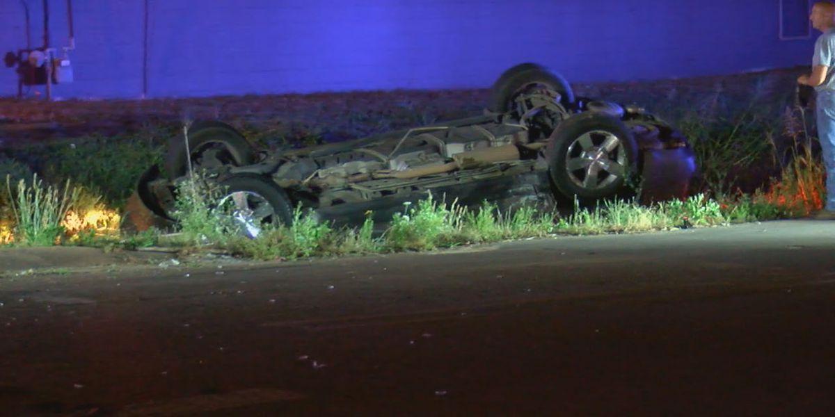 5 hospitalized in 2-vehicle Jonesboro crash