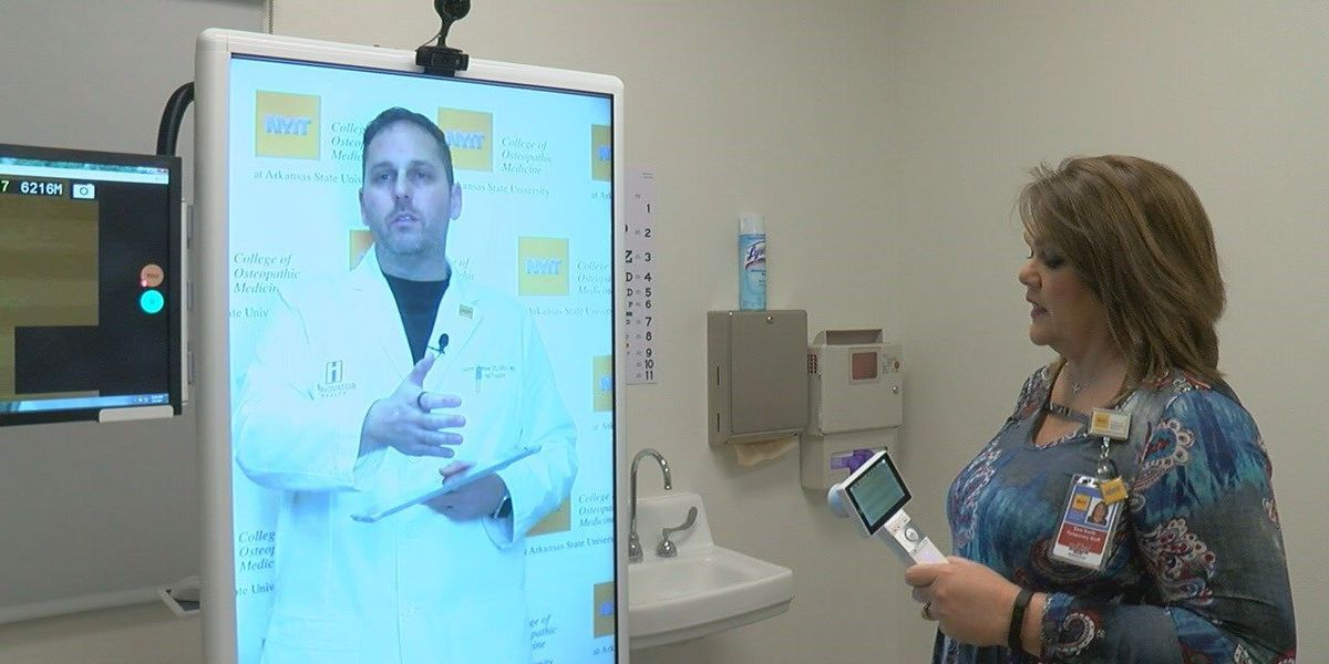NYIT students learning to be comfortable with telemedicine