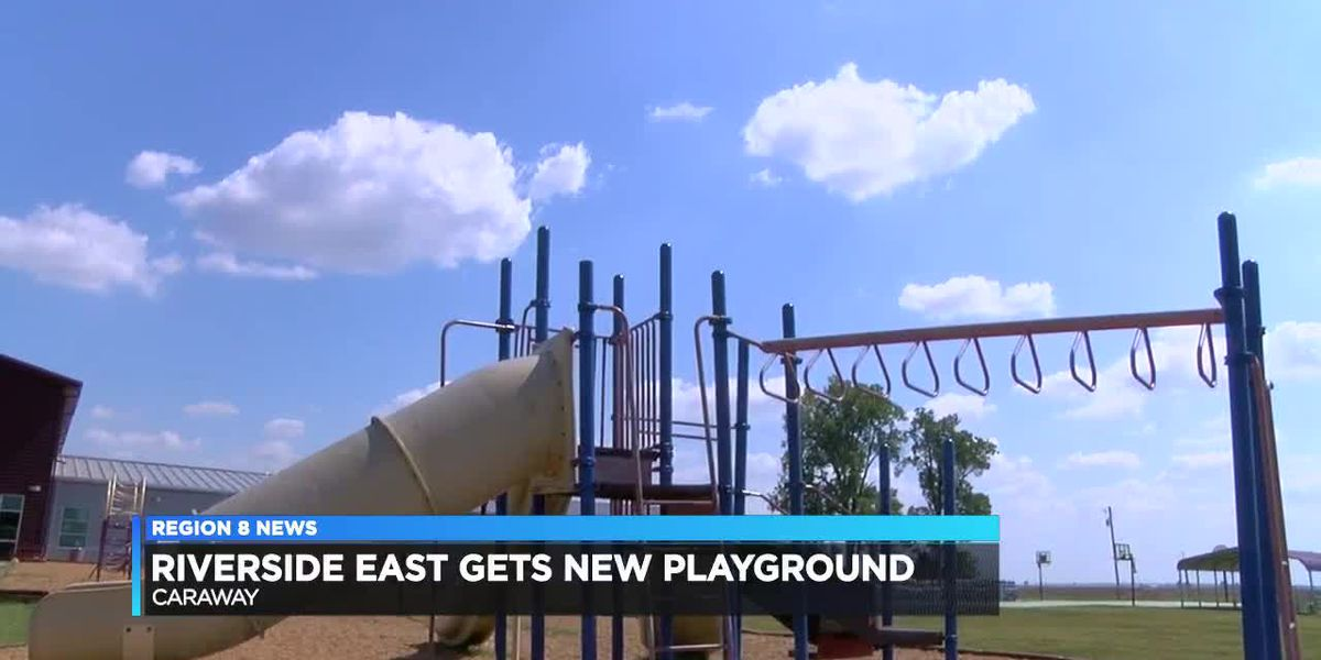Riverside East gets new playground.