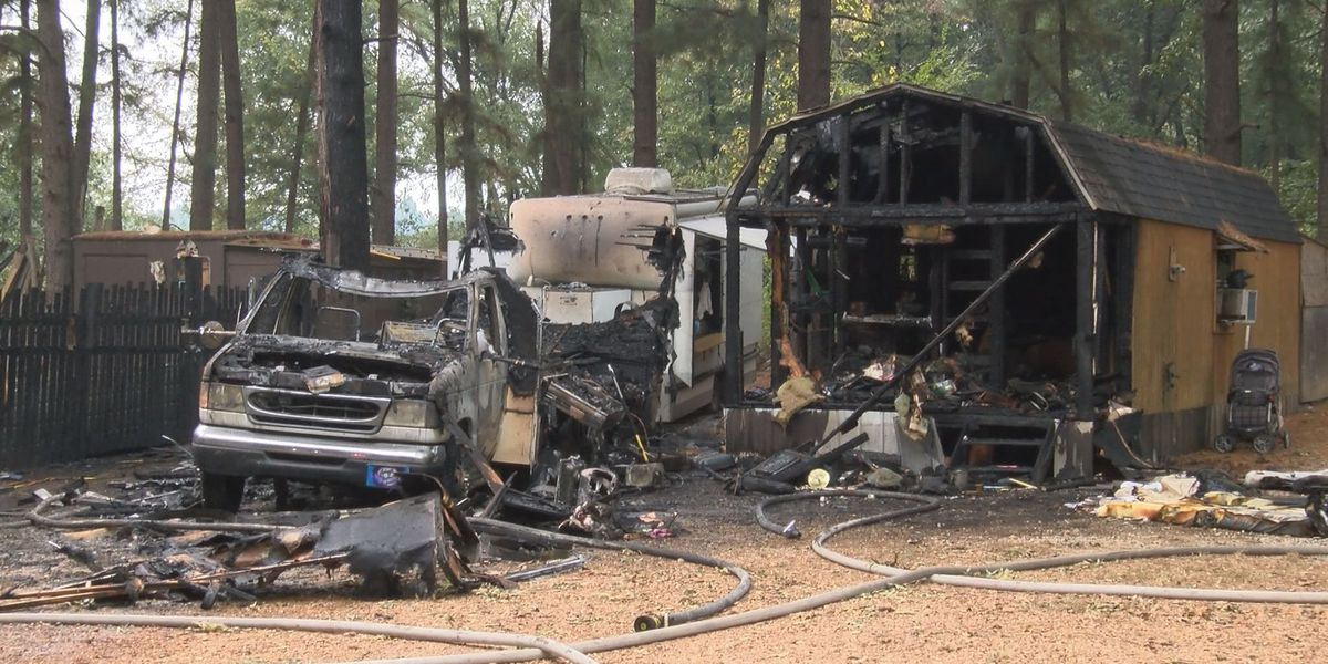 Explosions reported at Jonesboro house fire