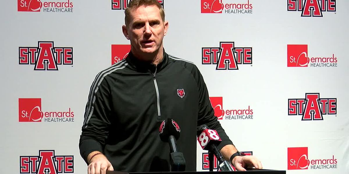 Red Wolves Raw: Blake Anderson weekly press conference (11/11 - Coastal Carolina)