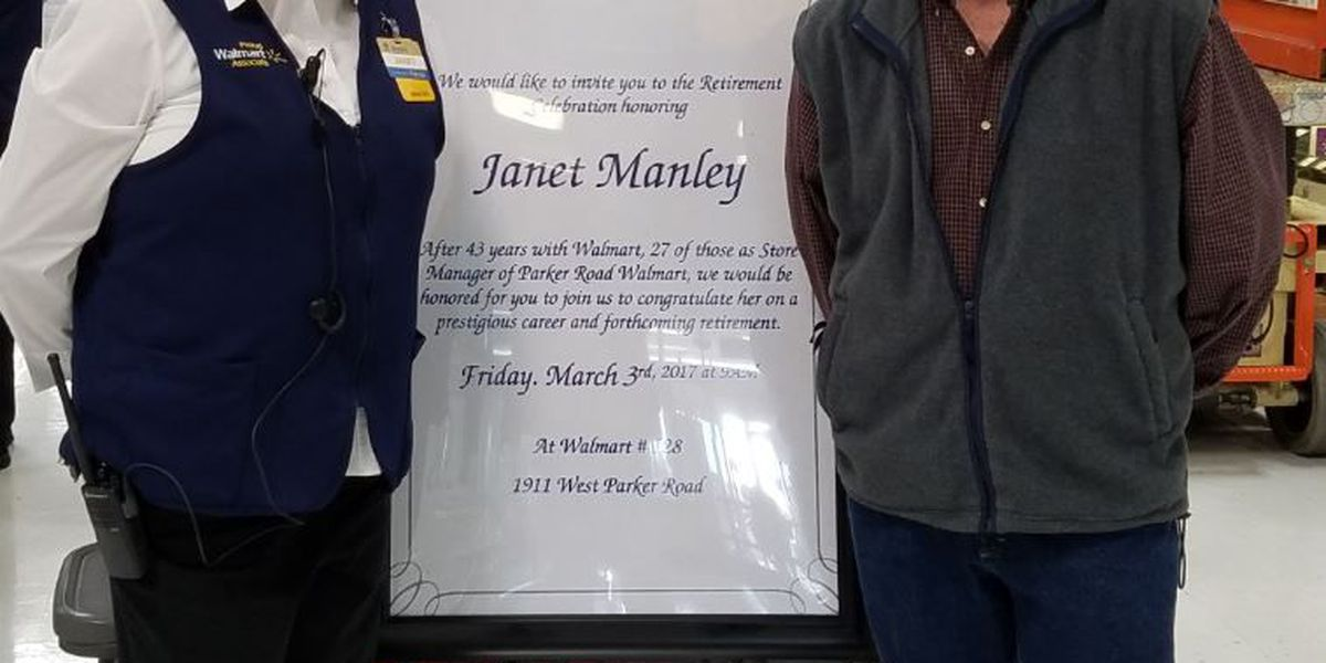 One of Walmart's first female managers retires after 43 years