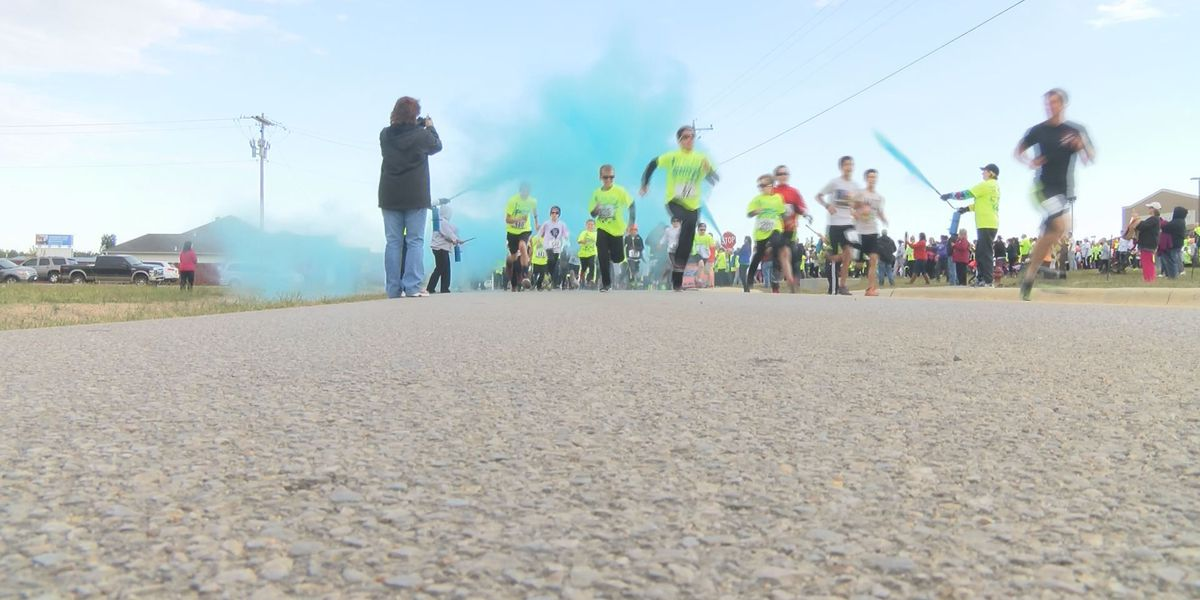 Brookland color run remembers 3 students who died