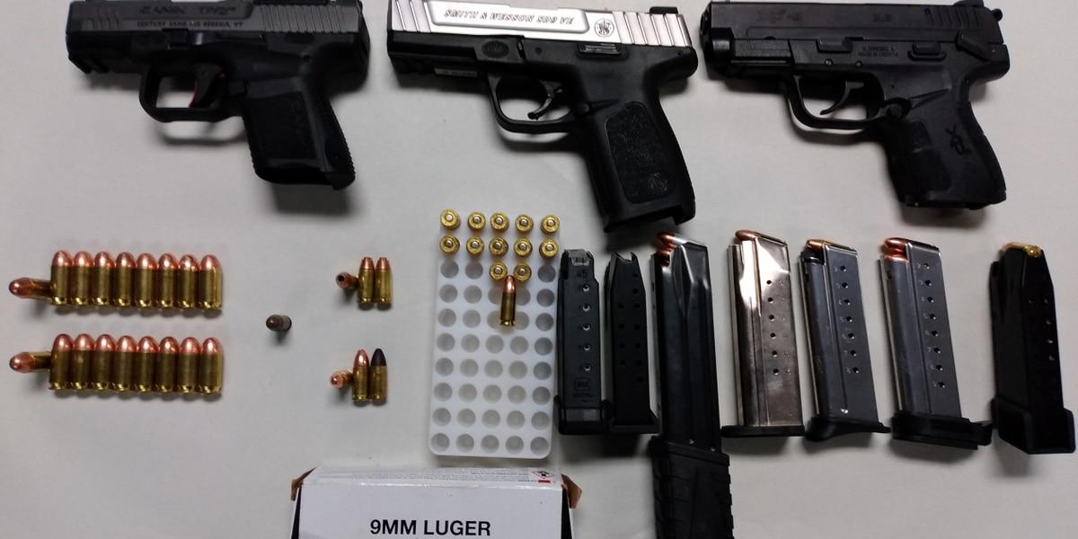 Poplar Bluff man facing gun charges