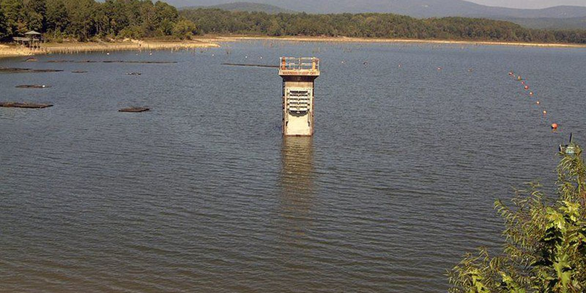 Lake Wilhelmina dam upgrades underway