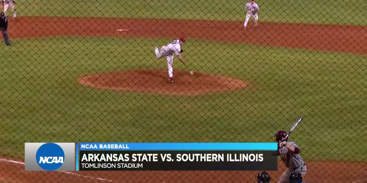 Arkansas State baseball falls in midweek action to Southern Illinois