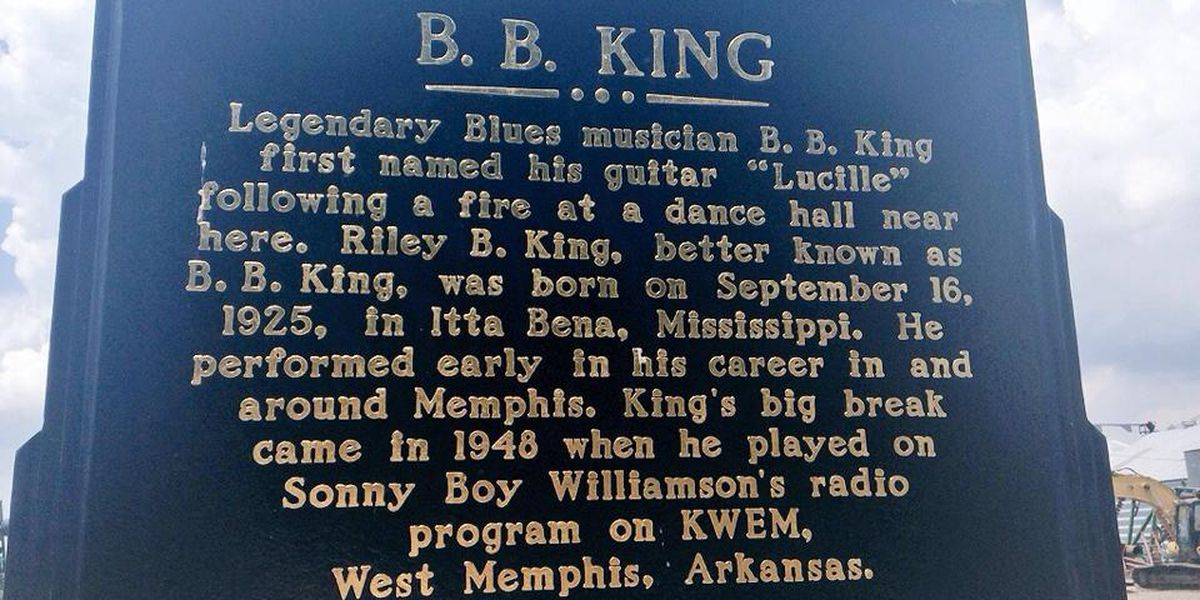 BB King's guitar name inspired by fire in Twist, AR