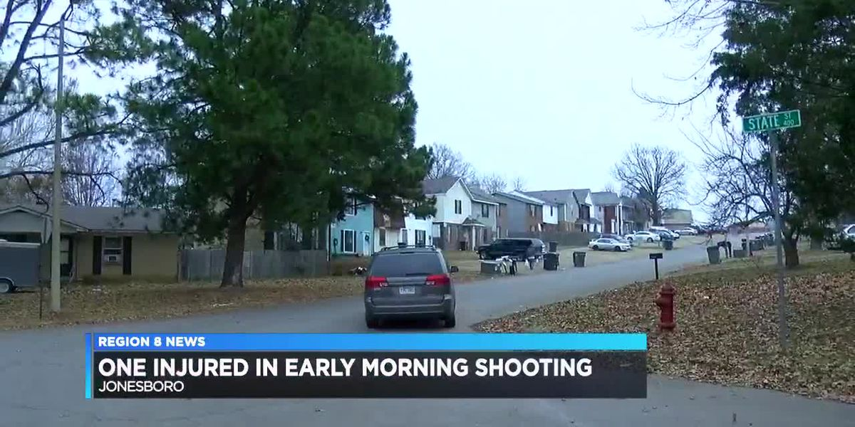 One in custody after early morning shooting