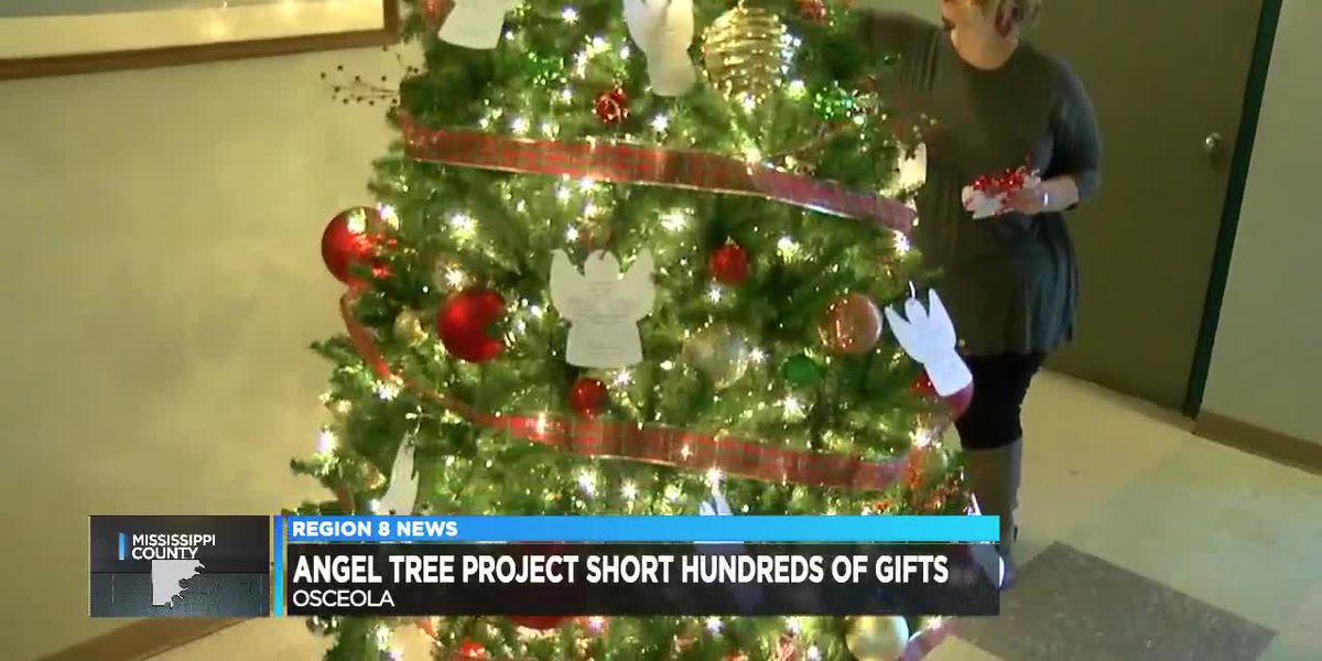 Region 8 Angel Tree project short on hundreds of donations, gifts