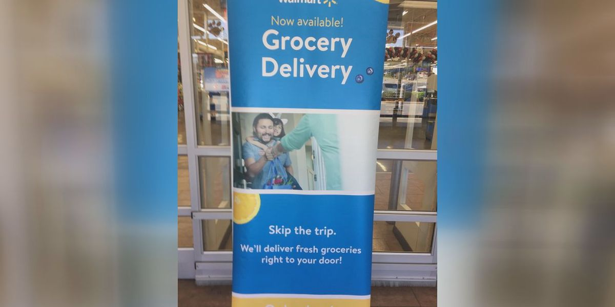 Groceries can be dropped off at your door