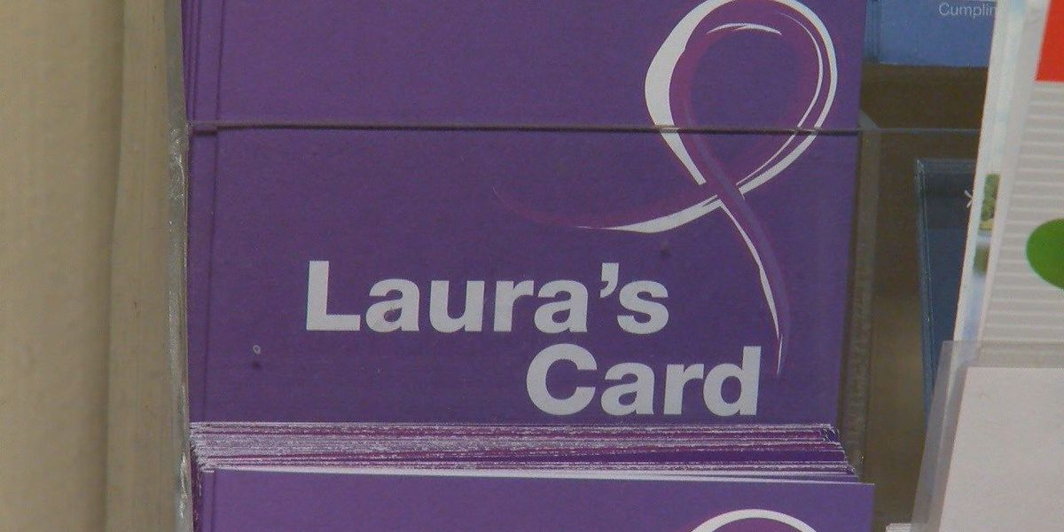 Advocacy group says Laura's Cards are underutilized