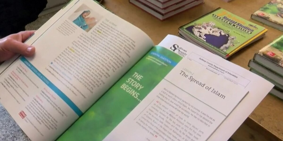 Middle school textbook in East Tennessee stirs religious controversy