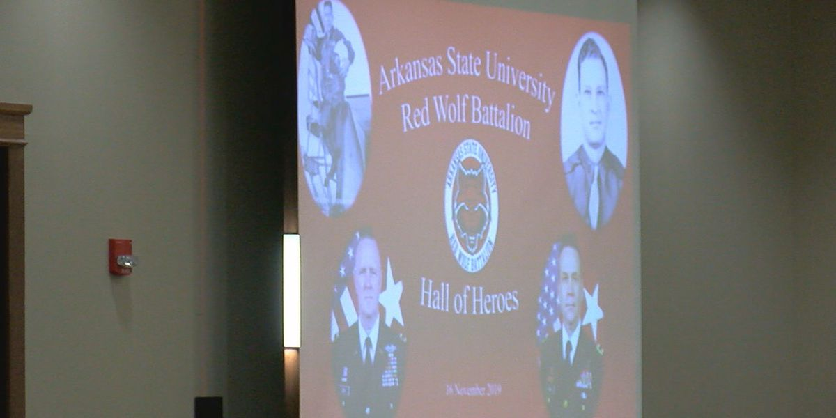 Four A-State alumni, veterans inducted into Hall of Heroes