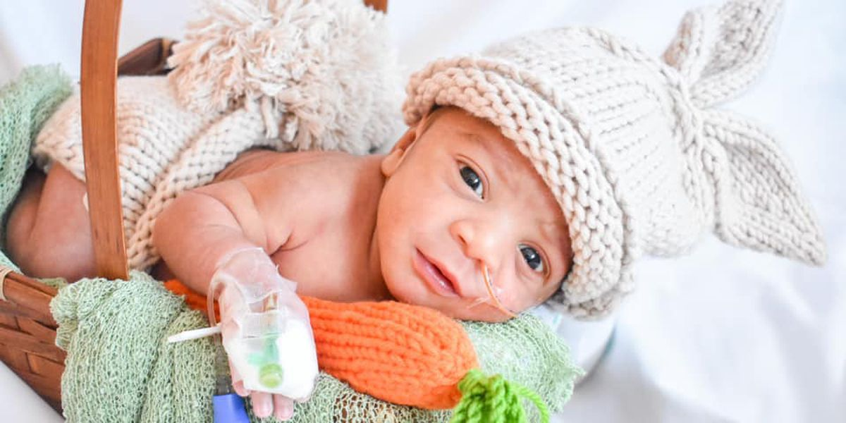 GALLERY: Baptist Women's Hospital NICU babies dress up for Easter