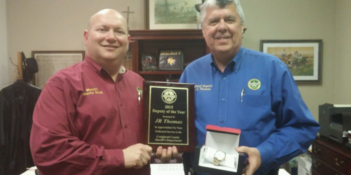 Deputy, officer honored at banquet