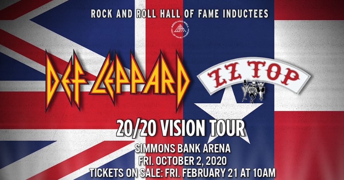 Def Leppard, ZZ Top head to North Little Rock this fall