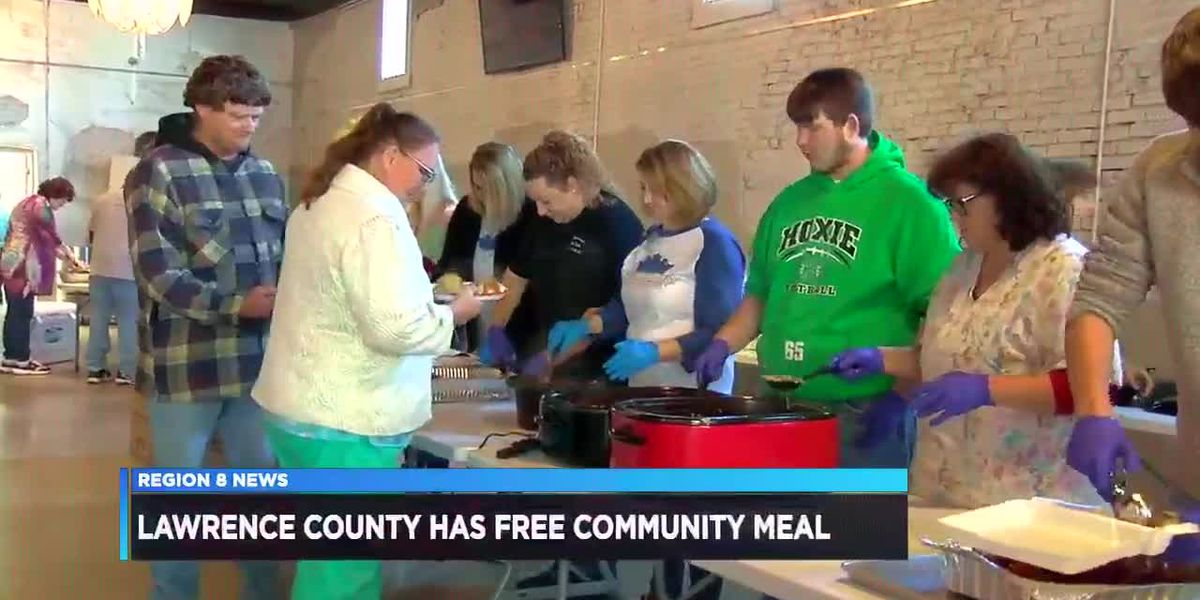Lawrence County holds community Thanksgiving dinner