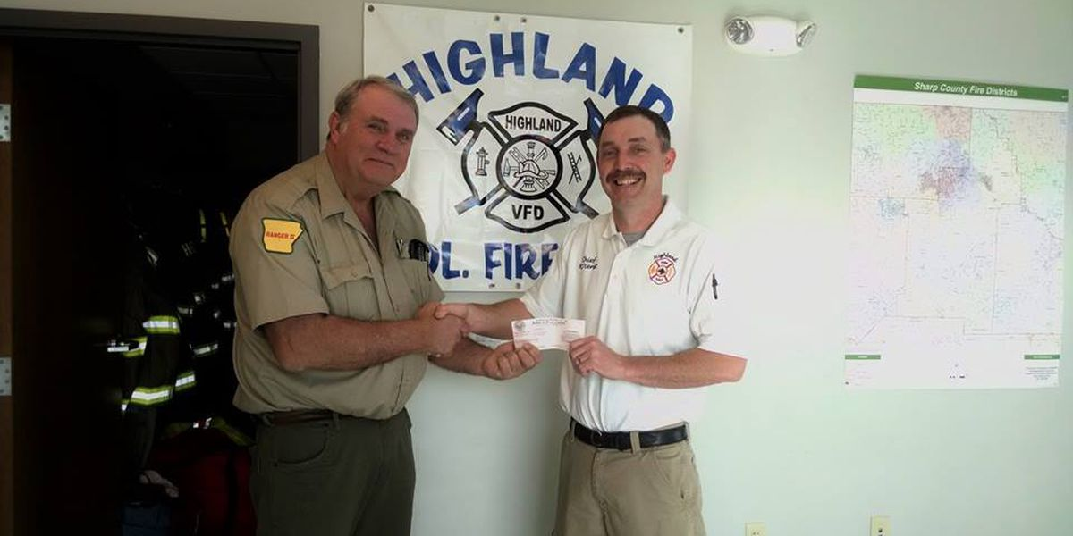 Fire department awarded AFC grant