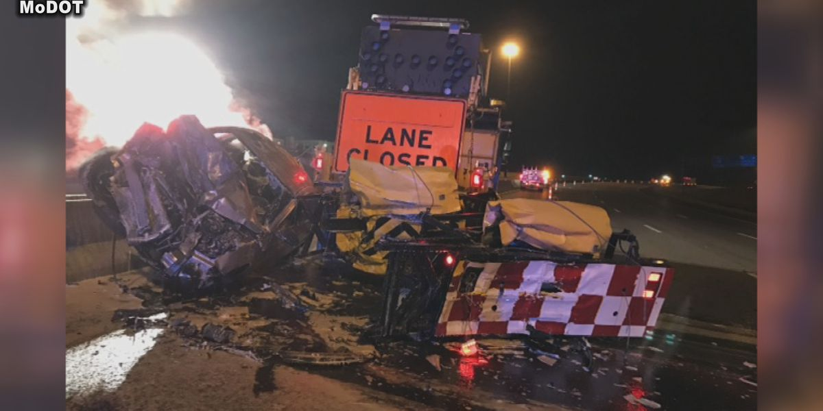 MoDOT concerned over rising number of TMA work zone crashes
