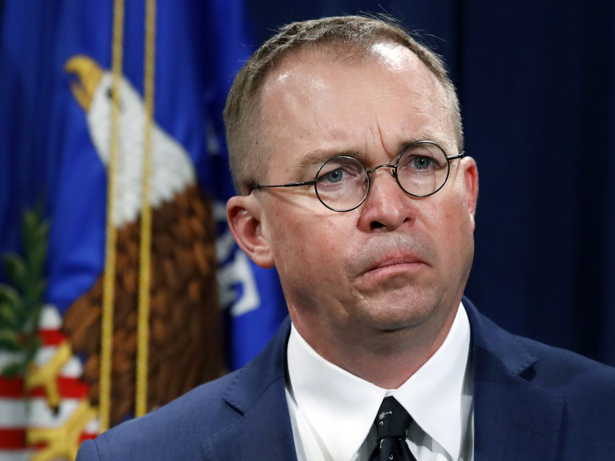 Trump picks Mick Mulvaney as acting chief of staff