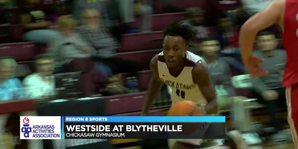 Blytheville routs Westside in 4A-3 basketball opener