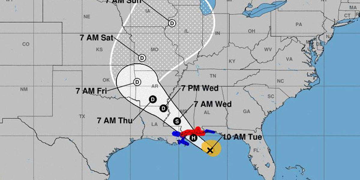 Tropical Storm Gordon brings hurricane watch to Gulf Coast