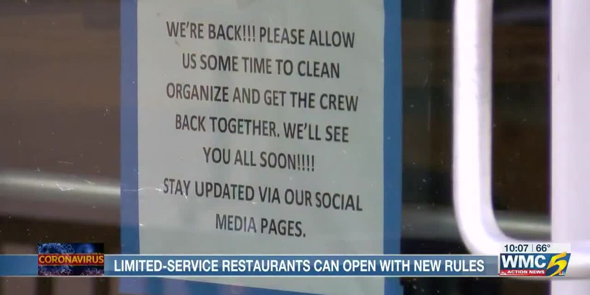 Limited-service restaurants and bars preparing to welcome back customers